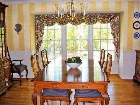 curtains for dining room ideas bay window curtain ideas for dining room doherty living