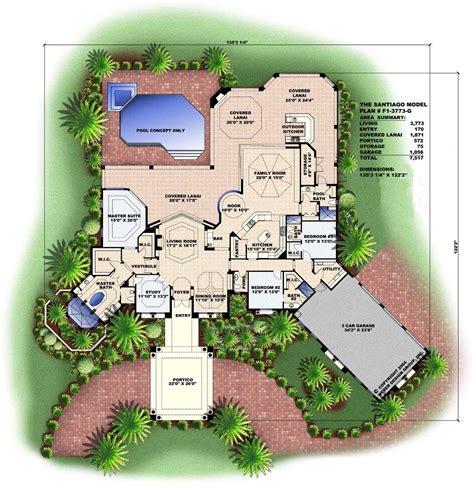 mediterranean designs florida house plans home design