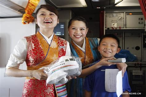 Anniversary Of The Flight Attendant by Tibet Airlines Marks One Year Anniversary