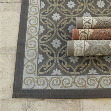 ballard designs kitchen rugs ravello indoor outdoor rug rugs ballard designs grey or teal for bathrm mudrom 4x5 7 quot 75
