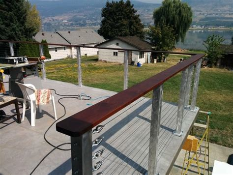 Cheap Banisters by Cheap Cable Rail System Revisited