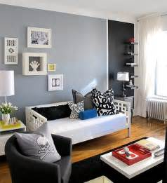 painting small spaces by color blocking my colortopia