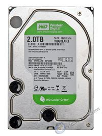 Disk Wdc 2 Tb Green tech arp western digital caviar green wd20earx 2 tb disk drive review