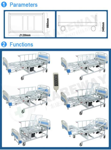 safety adjustable patient bed  automatic toilet
