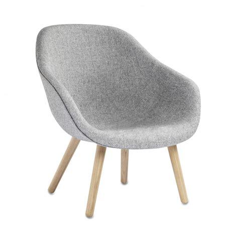 Lounge Chair 1956 Design Ideas Fauteuil Aal82 Bas En Ch 234 Ne Et Tissu Kvadrat Hay