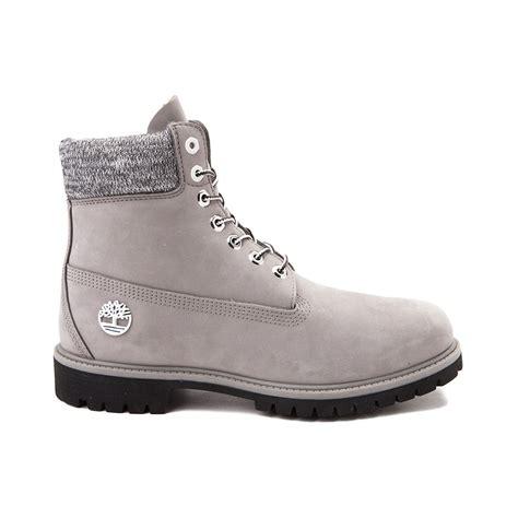 mens gray timberland boots mens timberland 6 knit boot gray 531677