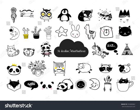 simple clean black and white scandinavian style simple design clean stock