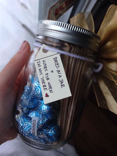 Date  Ee  Ideas Ee   In A Jar And Kisses For When Im Not There