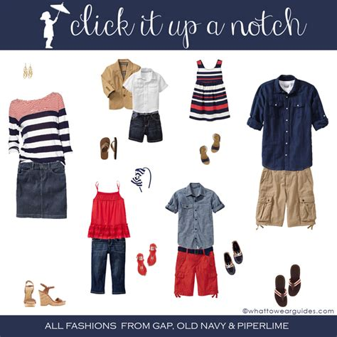 what to wear in family photos june 2013 click it up a