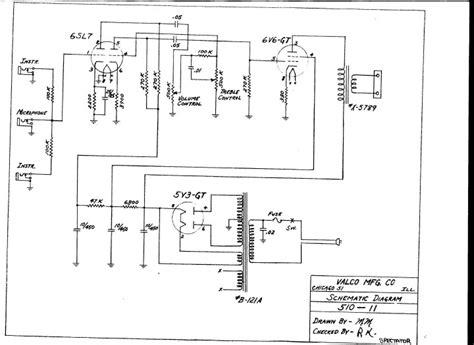 national amp circuit diagrams  schematics