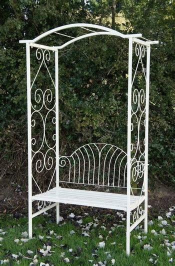 metal arbor with bench adalyn summer garden arbour bench black country metal