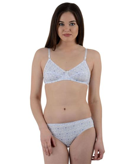 Set Cotton buy ultrafit white cotton bra sets pack of 2 for
