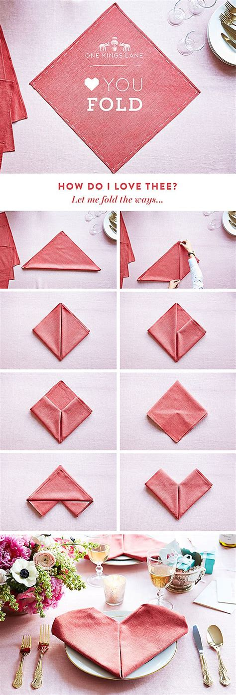 Ways To Fold A Paper Napkin - 1000 ideas about wedding napkin folding on