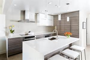 Modern Kitchen For Small Condo Contemporary Aspen Condo Gets A Chic Makeover