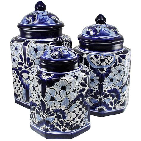 kitchen canister talavera kitchen canisters collection talavera kitchen