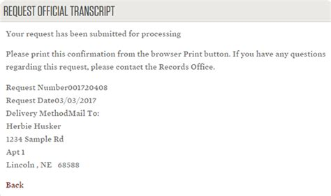 authorization letter for diploma and transcript of records ordering transcripts office of the registrar
