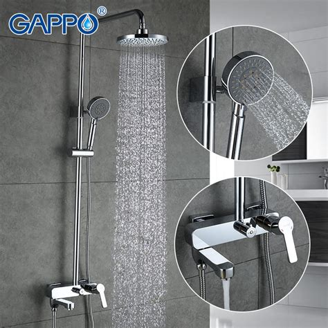 bathroom fixture sets gappo 1set bathroom fixture sets faucets set bath shower