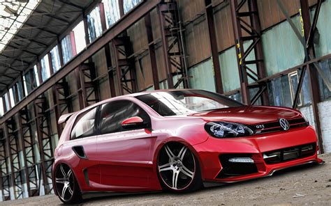 Golf Auto Tuning by Tuning Volkswagen Golf 6gt Wallpapers And Images