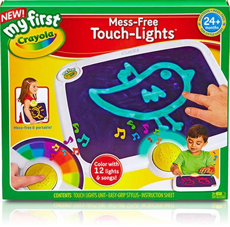 Crayola Touch Lights by Mess Free Touch Lights