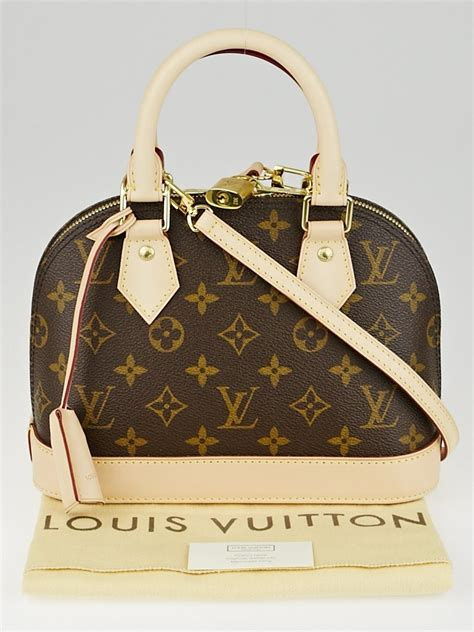 louis vuitton monogram canvas alma bb bag yoogis closet