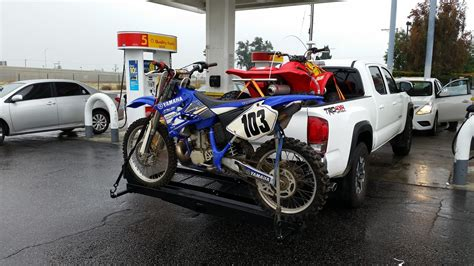 motocross bike carrier don t buy this dirt bike carrier for your hitch tech