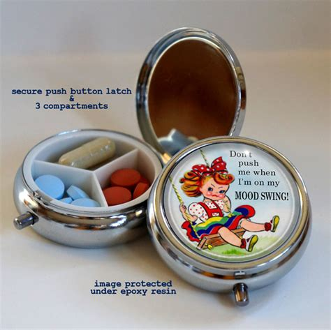 mood swings and the pill mood swing novelty pill box item 55003