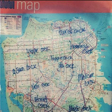 san francisco map muni s unabridged muni map of the castro other san
