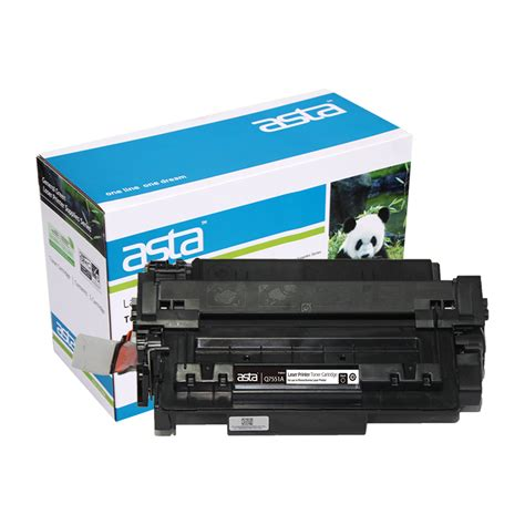 Toner Q7551a for hp q7551a black compatible laserjet toner cartridge