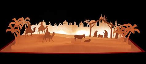 Pop Up Nativity Card Template by 3d Svg Pop Up Layered Card Nativity Nativity