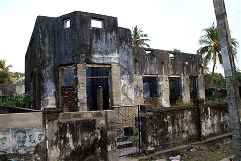 Faculty Ruin the modern ruins of jaffna town sri lanka for 91 days
