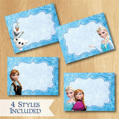 printable frozen food tents frozen food labels www imgkid com the image kid has it