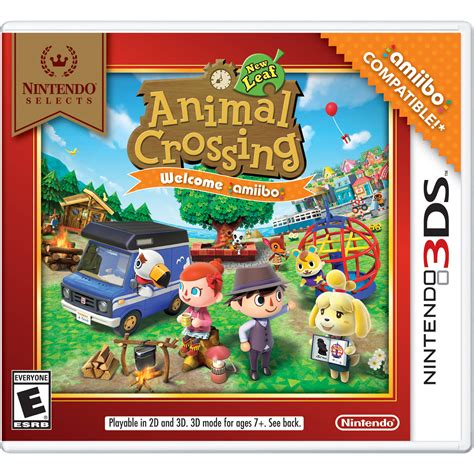 animal crossing new leaf 3ds console nintendo animal crossing new leaf amiibo for nintendo