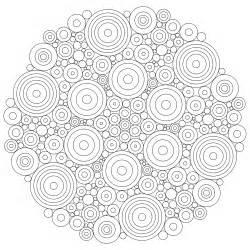 Mandala Circles Coloring Pages don t eat the paste circles mandala