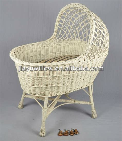 Wicker Baby Cribs Wicker Weave Baby Basket Swing Crib