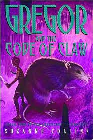 gregor and the code of claw series 5 cool read gregor the overlander series the code of