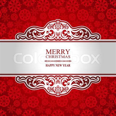 christmas   year vintage greeting card creative