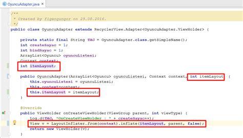 layout manager recyclerview xml recyclerview ile gridlayoutmanager kullanımı xliii