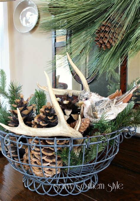 rustic christmas decor southern living clean cozy neutral winter decorating ideas the happy housie