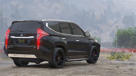 Mitsubishi Pajero Sport 2017 Gta5 Mods Com