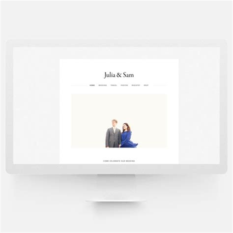 Wedding Websites Tips Tutorials And Templates Squarespace Wedding Templates