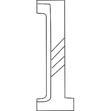 Lowercase L Coloring Page by Lowercase L Coloring Page