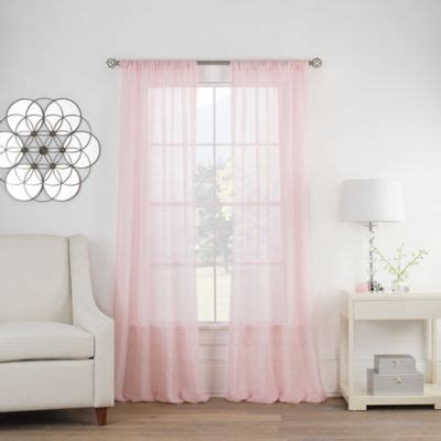 bed bath and beyond pink curtains buy light pink curtains from bed bath beyond
