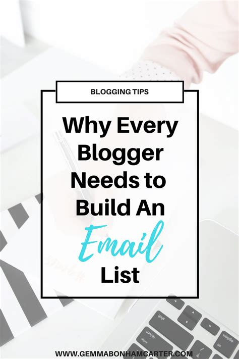 blogger email list 5 reasons why every blogger needs to build an email list
