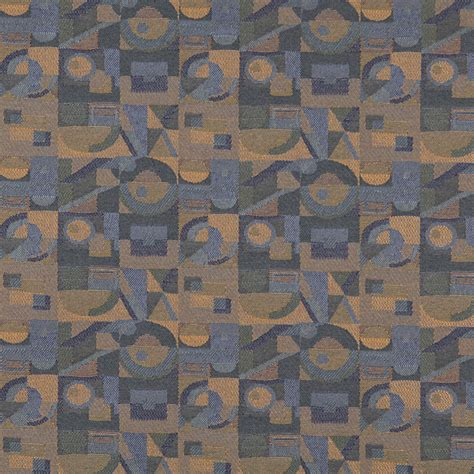 blue and gold upholstery fabric dark blue gold and green geometric contract upholstery