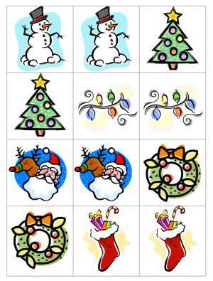 free printable christmas memory games christmas memory game therapy xmas and christmas