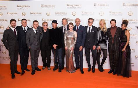 The Premiere by World Premiere Interviews Kingsman The Golden Circle