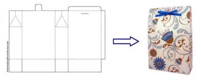 There are also instructions for how to make gift boxes using origami