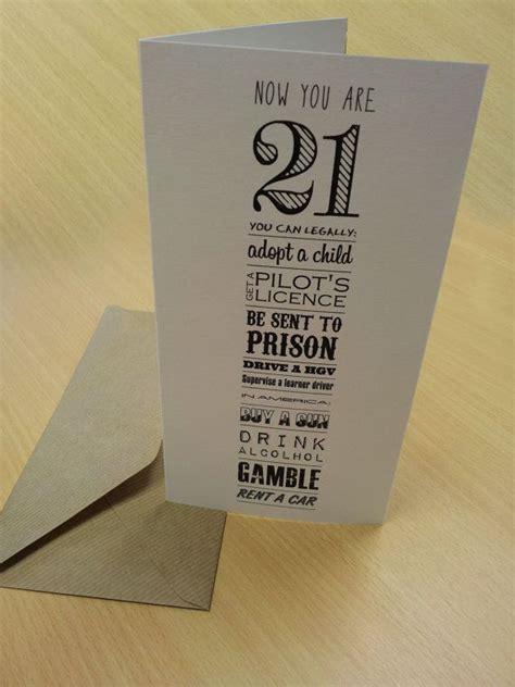 21st Birthday Card 21st Birthday Card Now You Re 21 Typography Birthdays