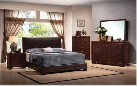 walnut bedroom ideas conner recamara moderna de madera queen de 6 piezas