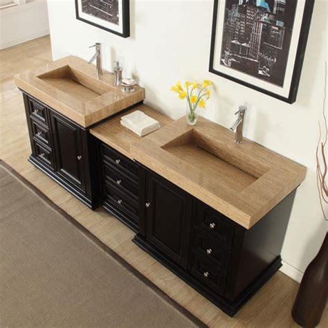 Accord 90 Inch Contemporary Integrated Sink Bathroom Vanity